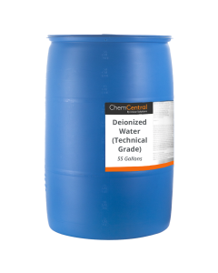 Deionized Water (Technical Grade)  - 55 Gallon Drum