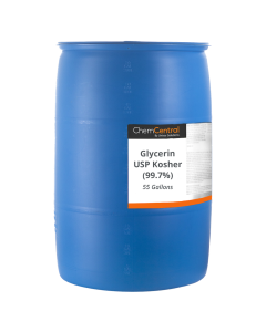 Glycerin USP Kosher (99.7%) - 55 Gallon Drum