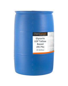 Glycerin USP Tallow Based (99.7%) - 55 Gallon Drum