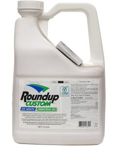 Roundup Custom™ Aquatic & Terrestial Herbicide - 2.5 Gallon Jug