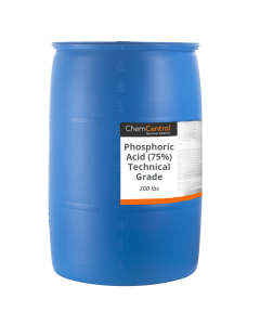 Phosphoric Acid (75%) Technical Grade - 200 lb Drum
