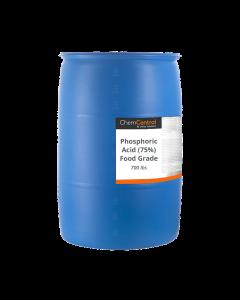 Phosphoric Acid (75%)  Food Grade - 55 Gallon Drum