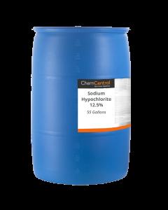 Sodium Hypochlorite (Bleach), 12.5% - 55 Gallon Drum