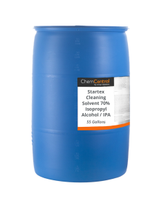 Startex Cleaning Solvent 70% Isopropyl Alcohol / IPA - 55 Gallon Drum