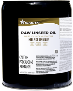 Startex Raw Linseed Oil 100% Pure - 5 Gallon Pail