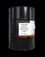 Isopropyl Alcohol / Isopropanol USP Grade (99%) - 55 Gallon Drum
